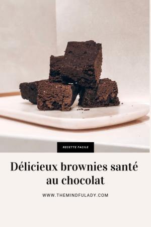 Brownies au chocolat superposées