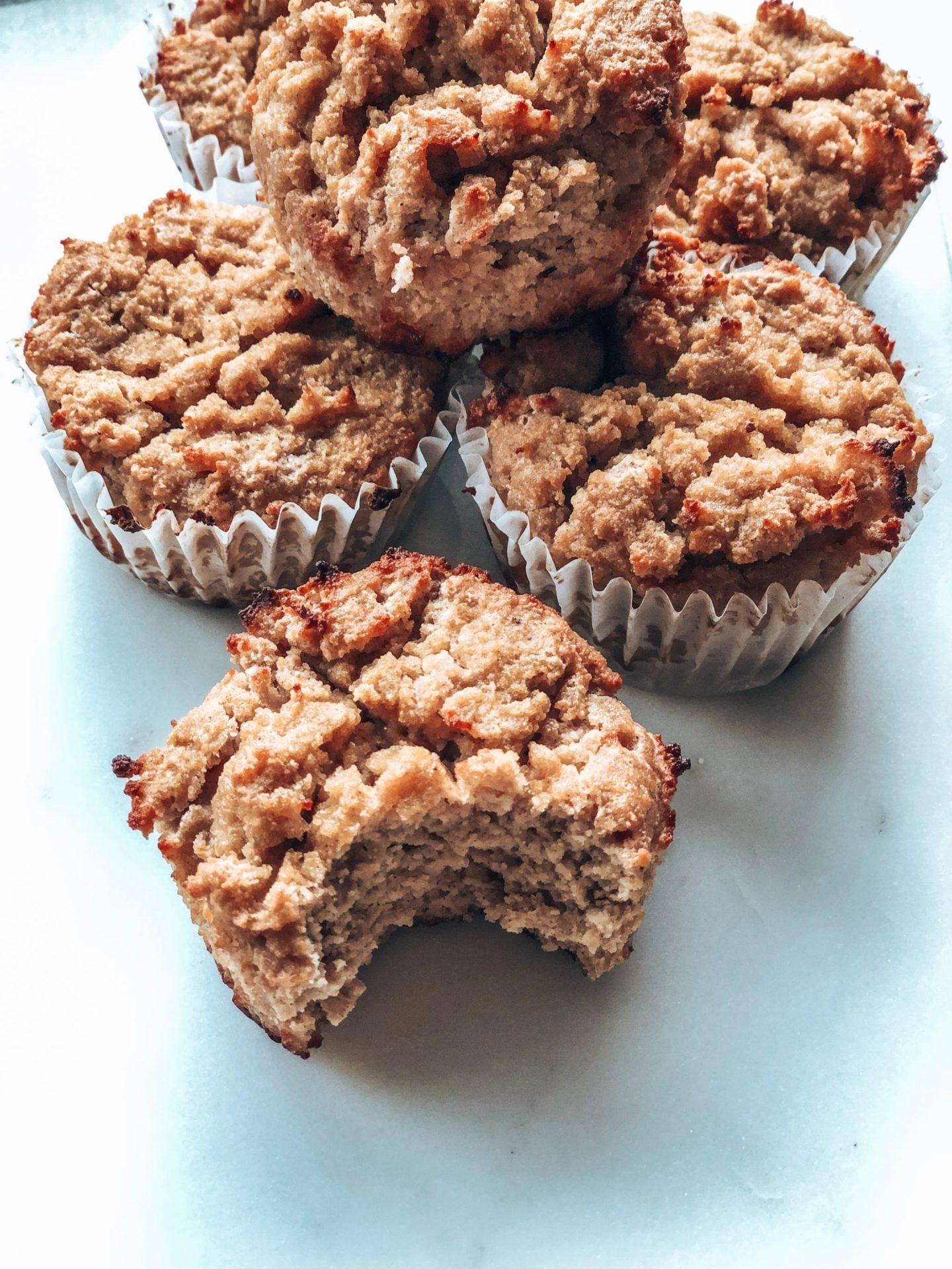 Muffins santé pommes canelles