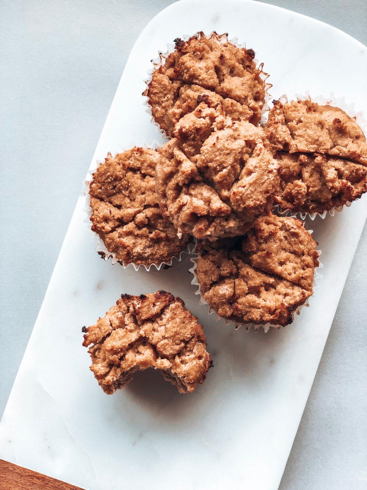Muffins santé pommes cannelle